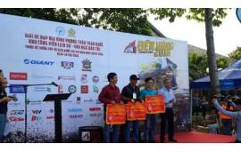 Xe đạp giá gốc GIANT đồng hành và tài trợ giải đua xe đạp địa hình.