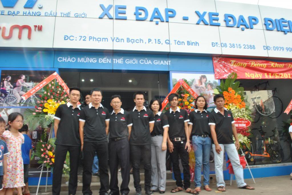 Tổng đại lý Xe Đạp GIANT tại đường Phạm Văn Bạch.